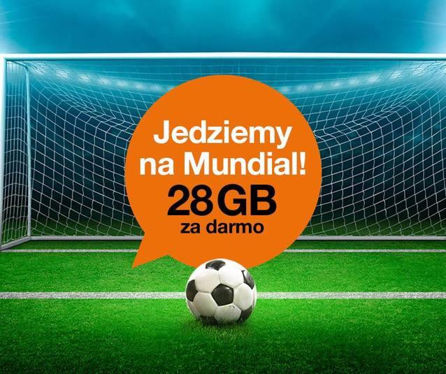 Orange szaleje ze szczęścia: Polacy jadą na Mundial, a operator rozdaje za darmo 28 GB internetu
