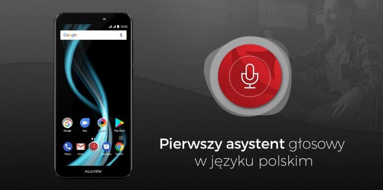 Allview prezentuje asystenta głosowego z obsługą języka polskiego.