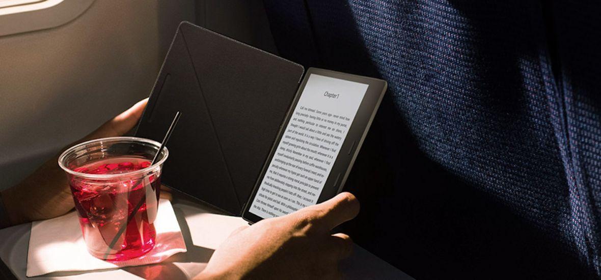 Kindle Oasis 2 spełnieniem marzeń każdego fana e-booków. To pierwszy wodoodporny czytnik Amazonu