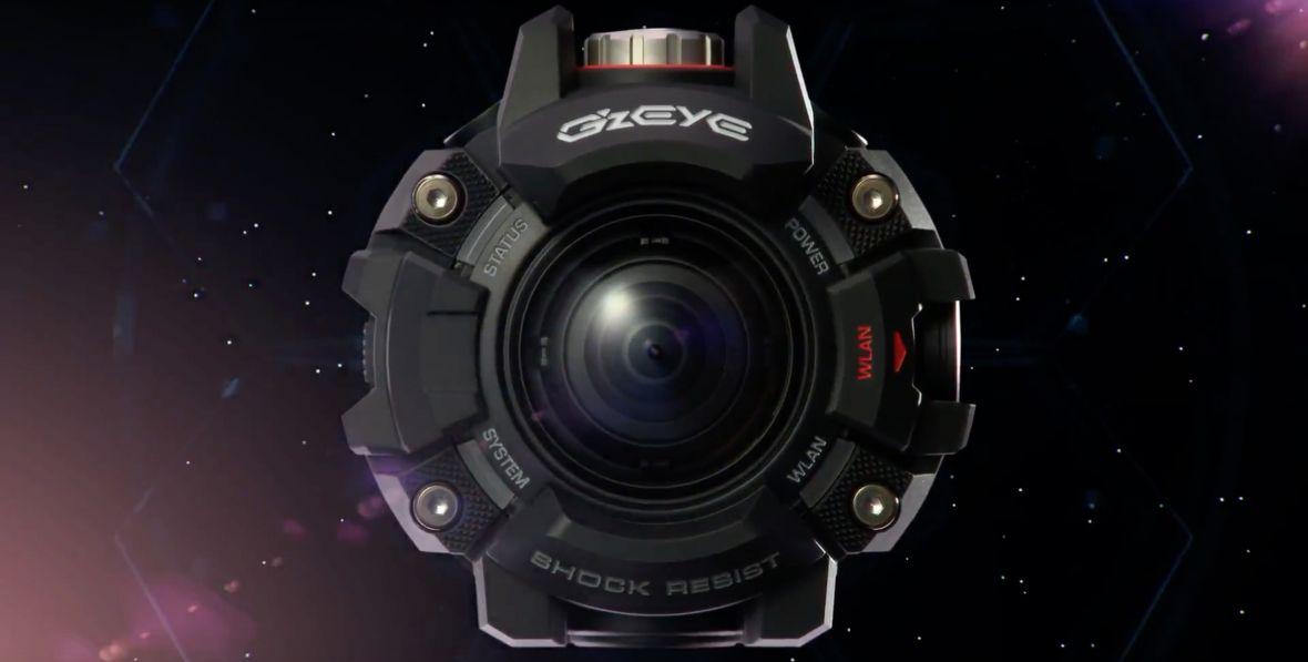 Pierwsza kamera sportowa Casio wygląda jak potężny zegarek G-Shock