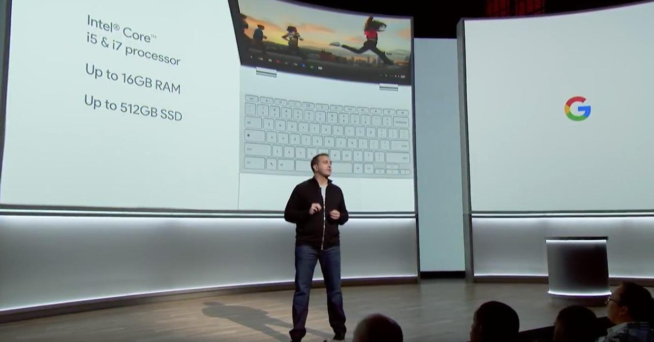 google Pixelbook specyfikacja