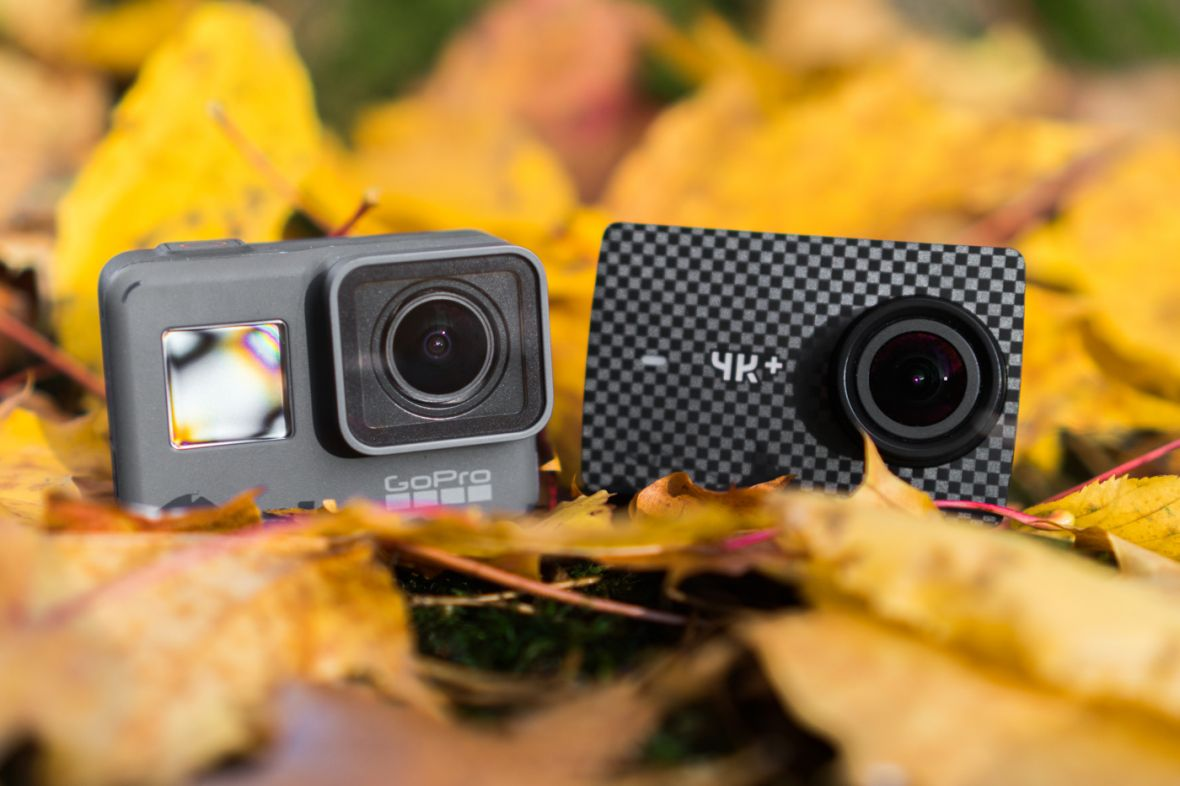 GoPro Hero 6 Black kontra Xiaomi Yi 4K+. Wielkie porównanie kamer sportowych