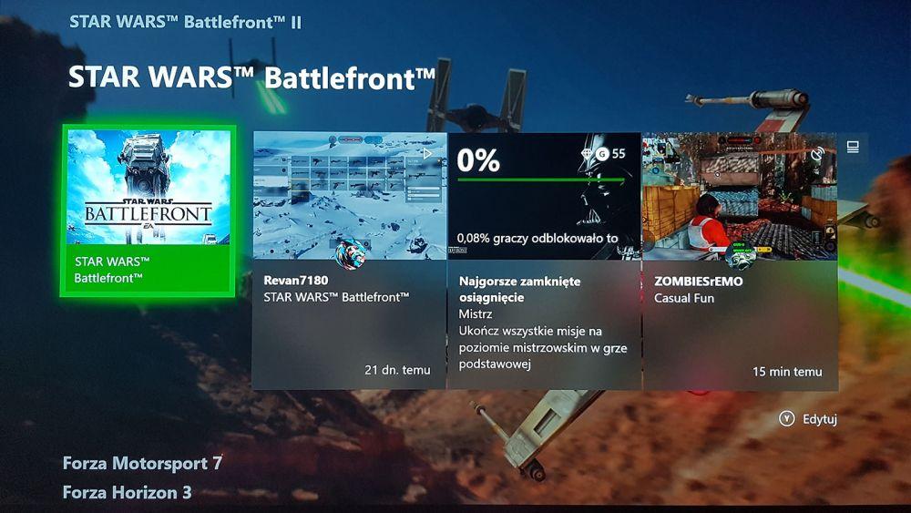 jesienna aktualizacja Xbox One