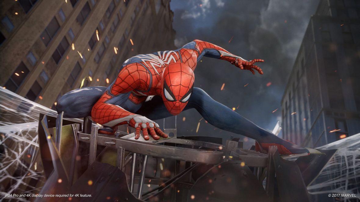 Spider-Man na PS4 w akcji. Na targach E3 sprawdziliśmy, jak śmiga się na pajęczynach po Nowym Jorku