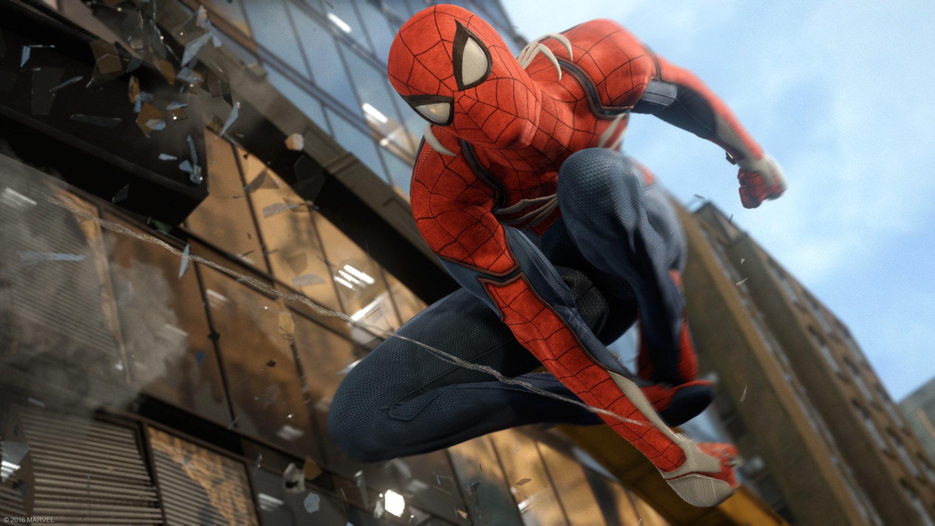 marvels spider-man ps4 2018 1