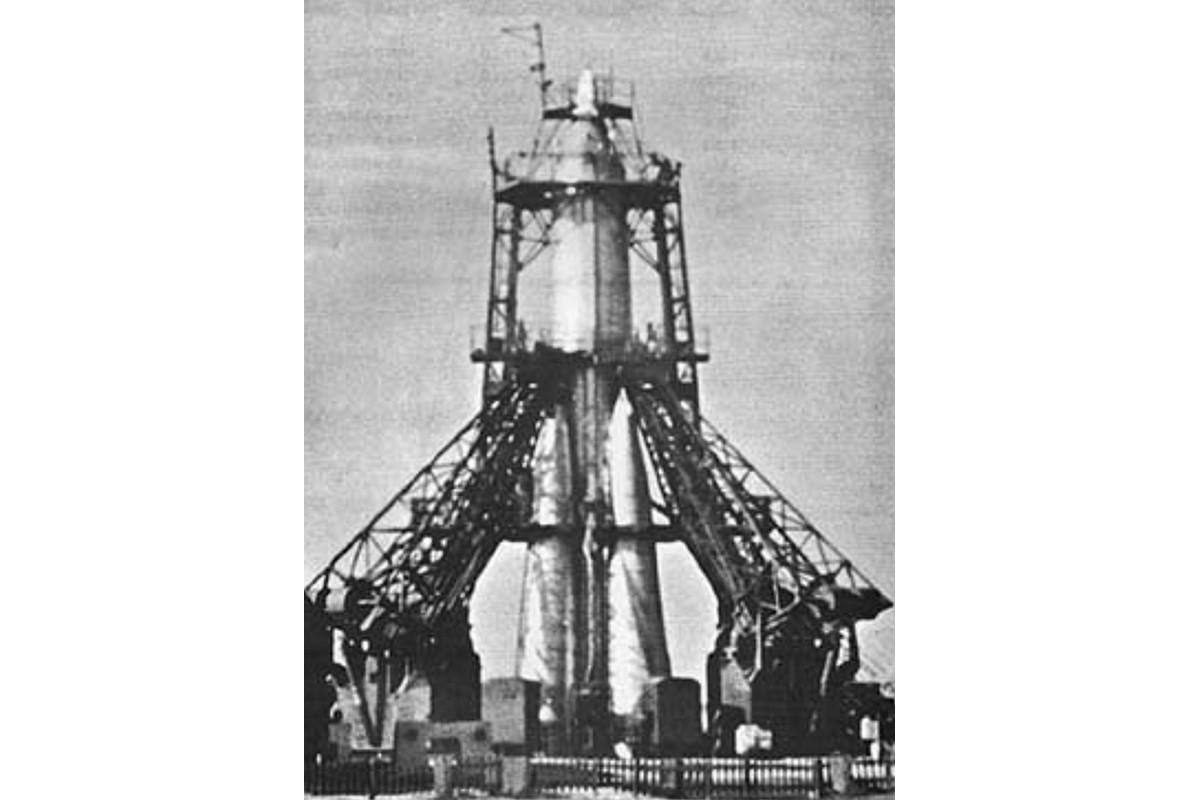 Rakieta R-7, która wyniosła satelitę Sputnik 1