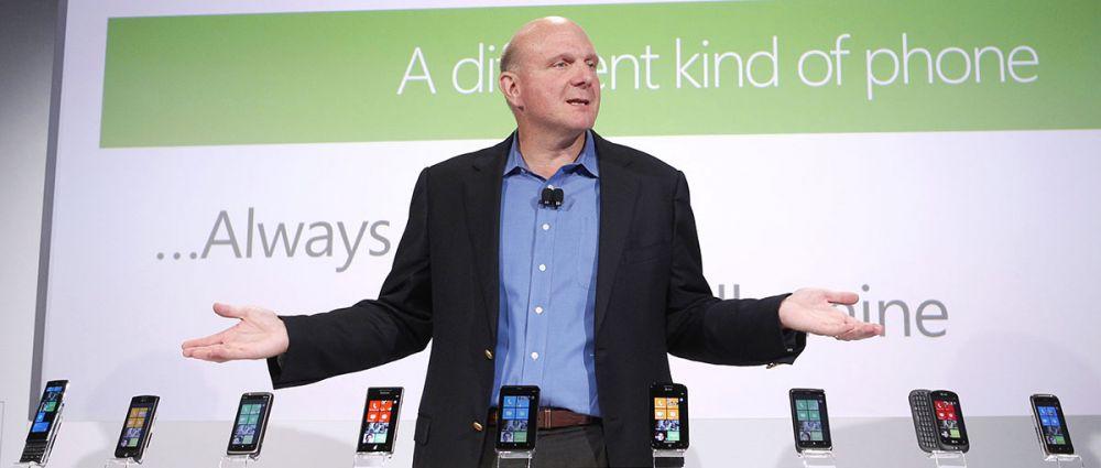 Steve Ballmer iPhone