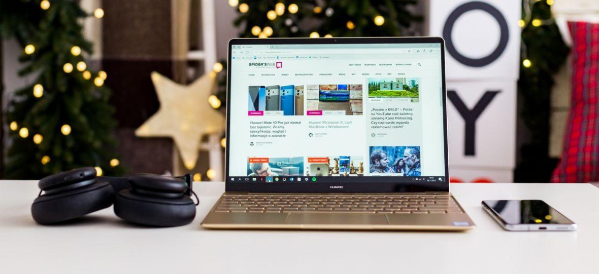 Kalendarz świąteczny – Huawei Matebook X