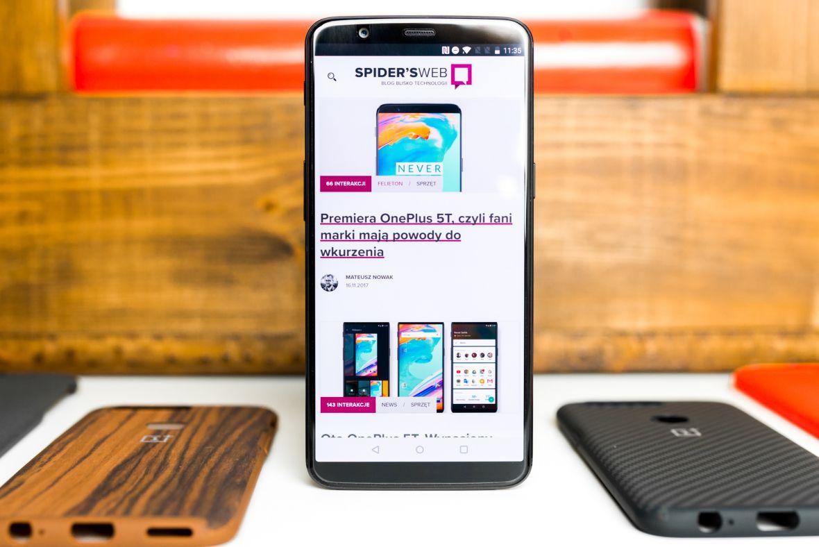 Co za promocja! Piekielnie szybki OnePlus 5T kosztuje mniej niż 1650 zł
