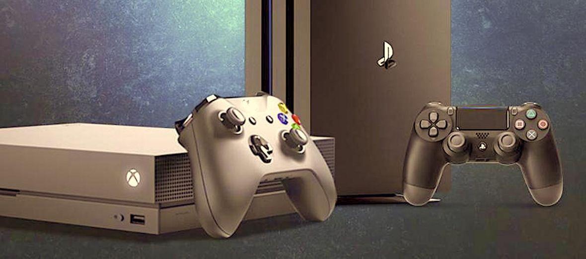 PlayStation 4 Pro kontra Xbox One X – wybieramy najlepszą konsolę [DEBATA]