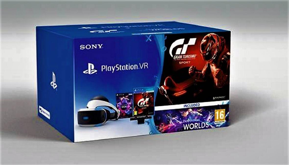 PlayStation VR, kamera, GT Sport i druga gra za 1299 zł. To najlepszy moment, aby wejść do wirtualnej rzeczywistości