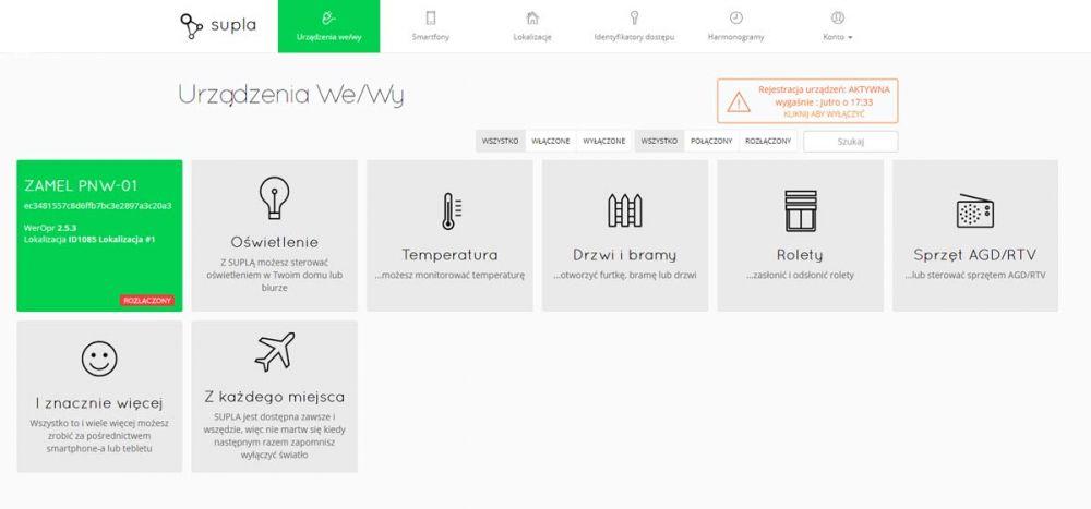 WiFi SUPLA Zamel PNW-01 opinie