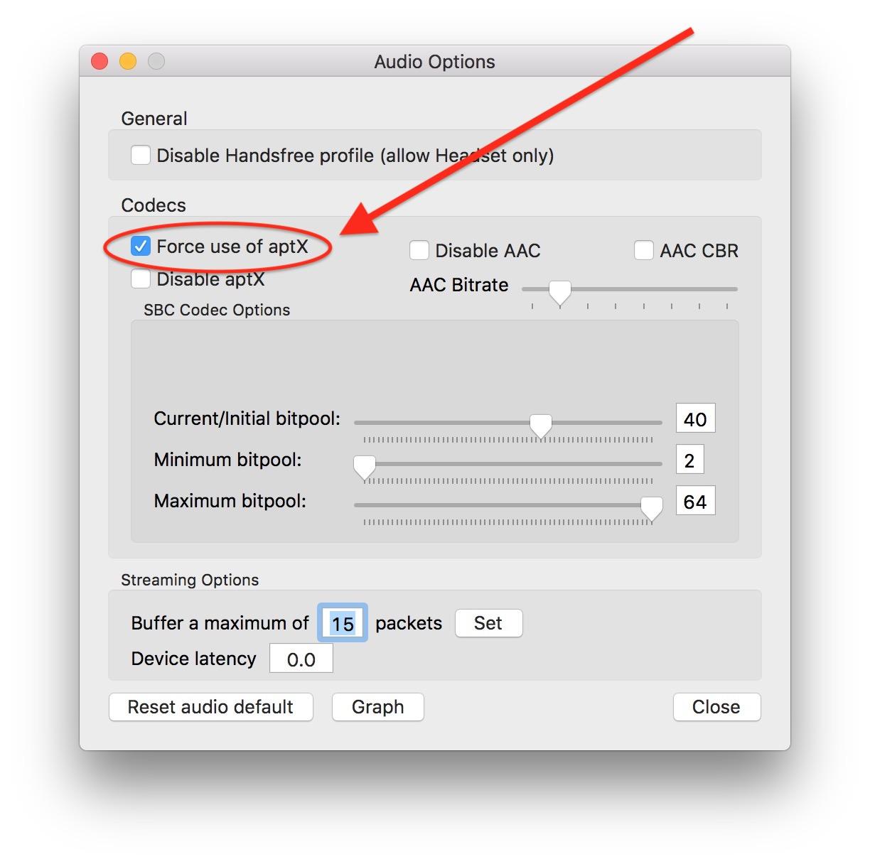 słuchawki bluetooth - jak włączyć aptx