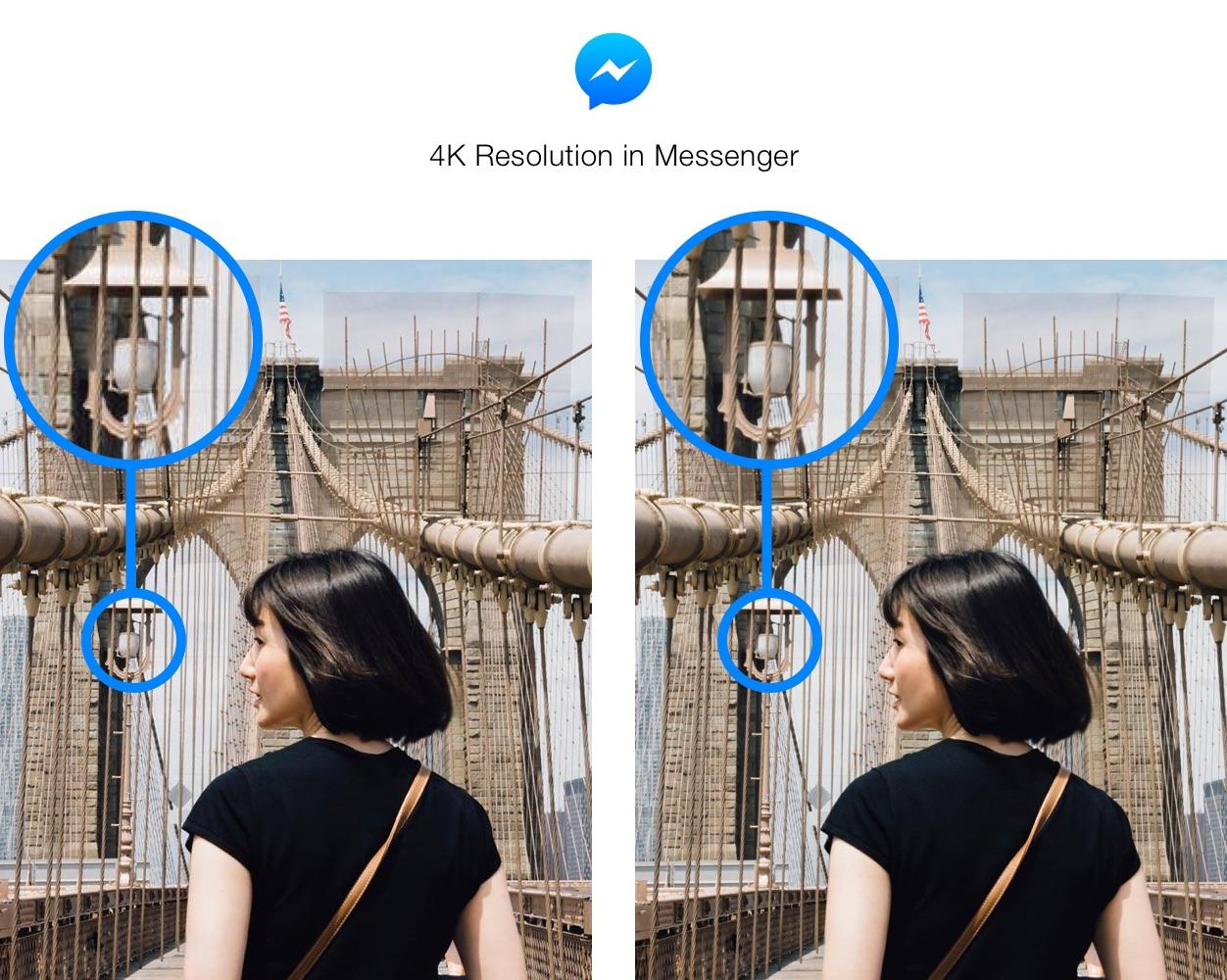 Facebook Messenger jakośc 4k