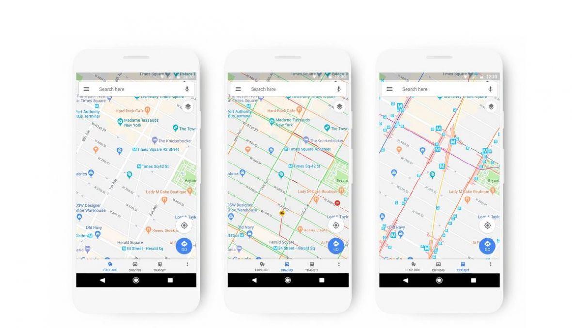 Tak teraz wyglądają Mapy Google. Jest sporo zmian