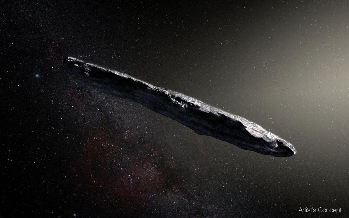 Poznajcie 'Oumuamuę – najdziwniejszy kawałek kosmicznej skały, jaki dziś zobaczycie