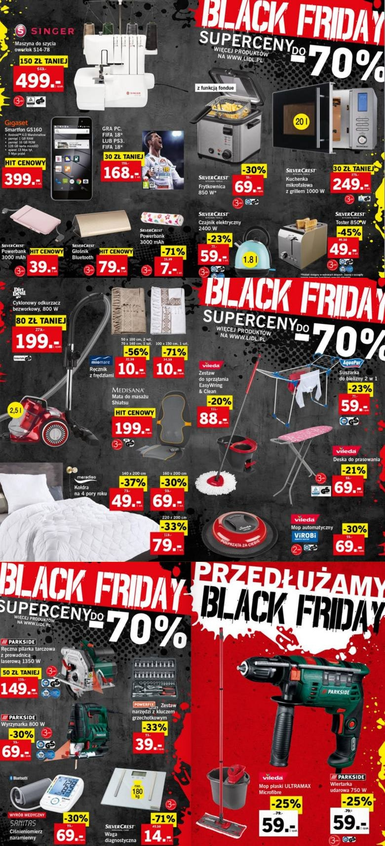 Black Friday 2017 sklepy