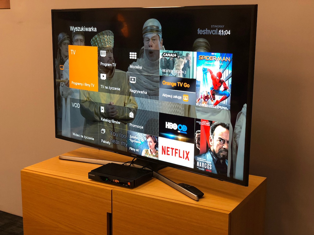 orange tv netflix eleven sports 4k dekoder