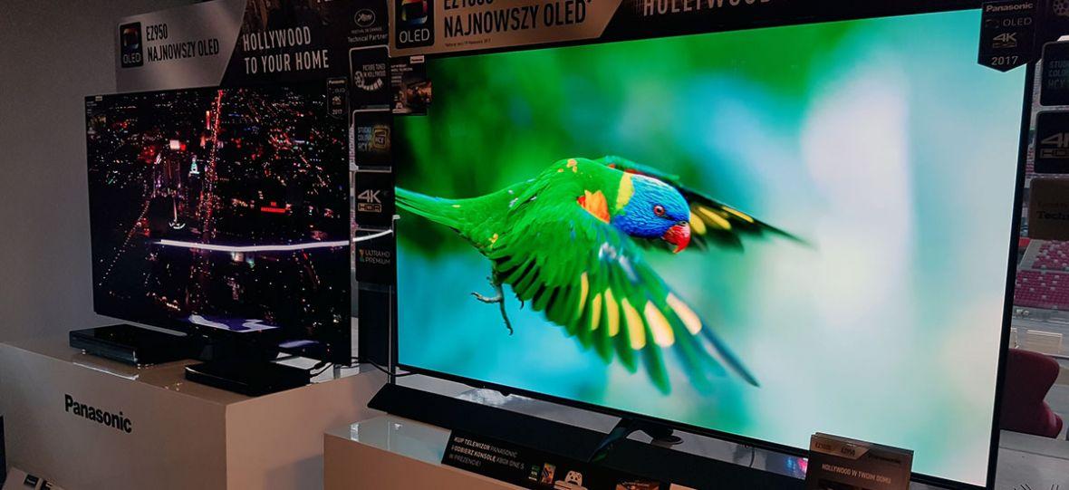 Panasonic również uwierzył w OLED. Dumnie prezentuje swoje telewizory na targach