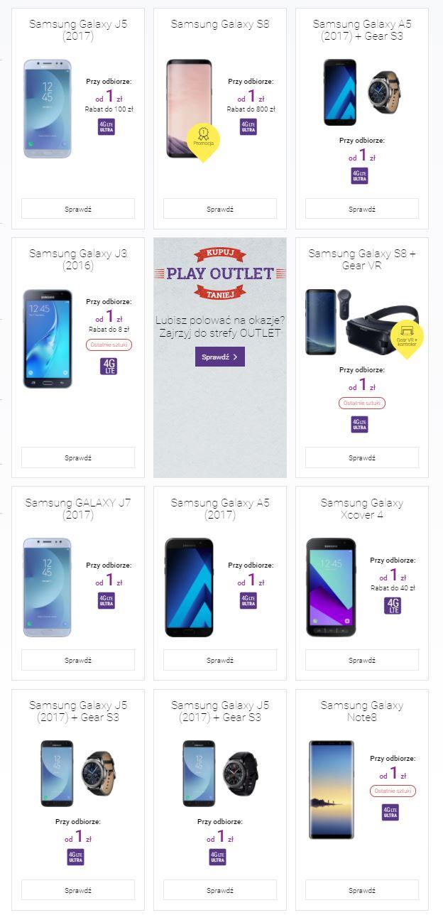 Play Samsung promocja