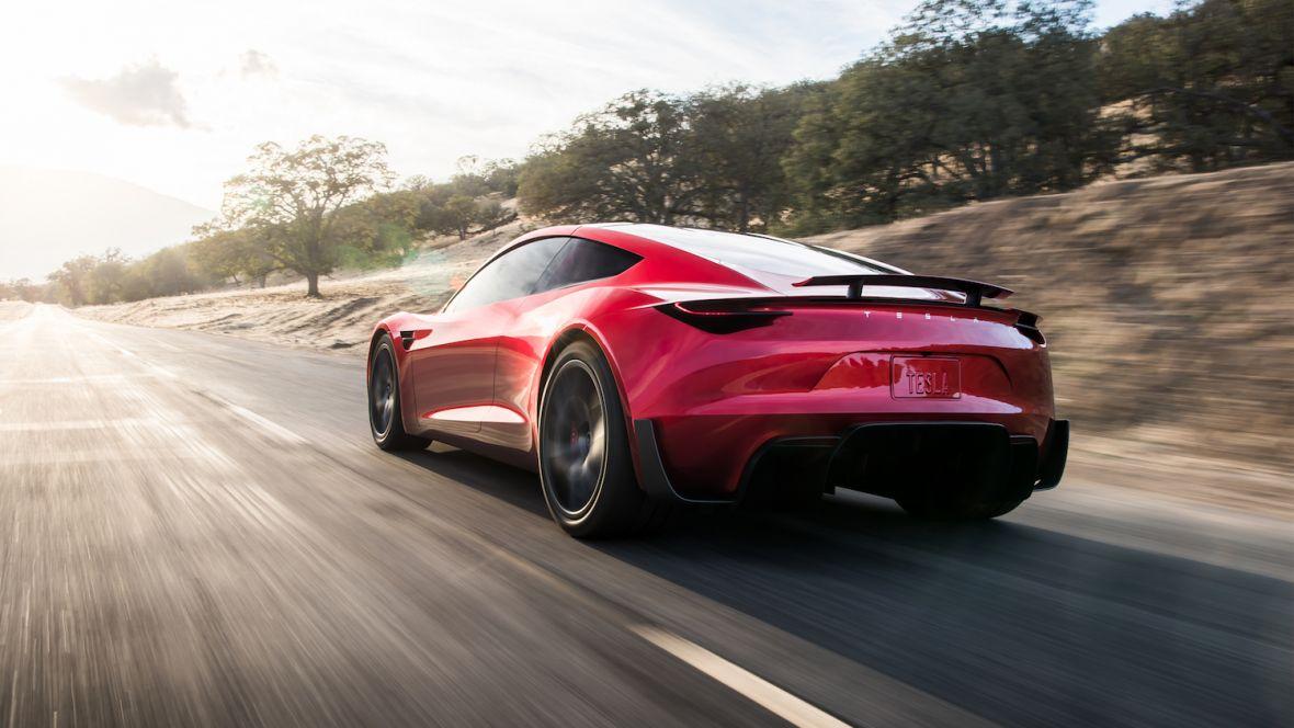 Niespodzianka! Tak wygląda nowa, absolutnie niesamowita Tesla Roadster