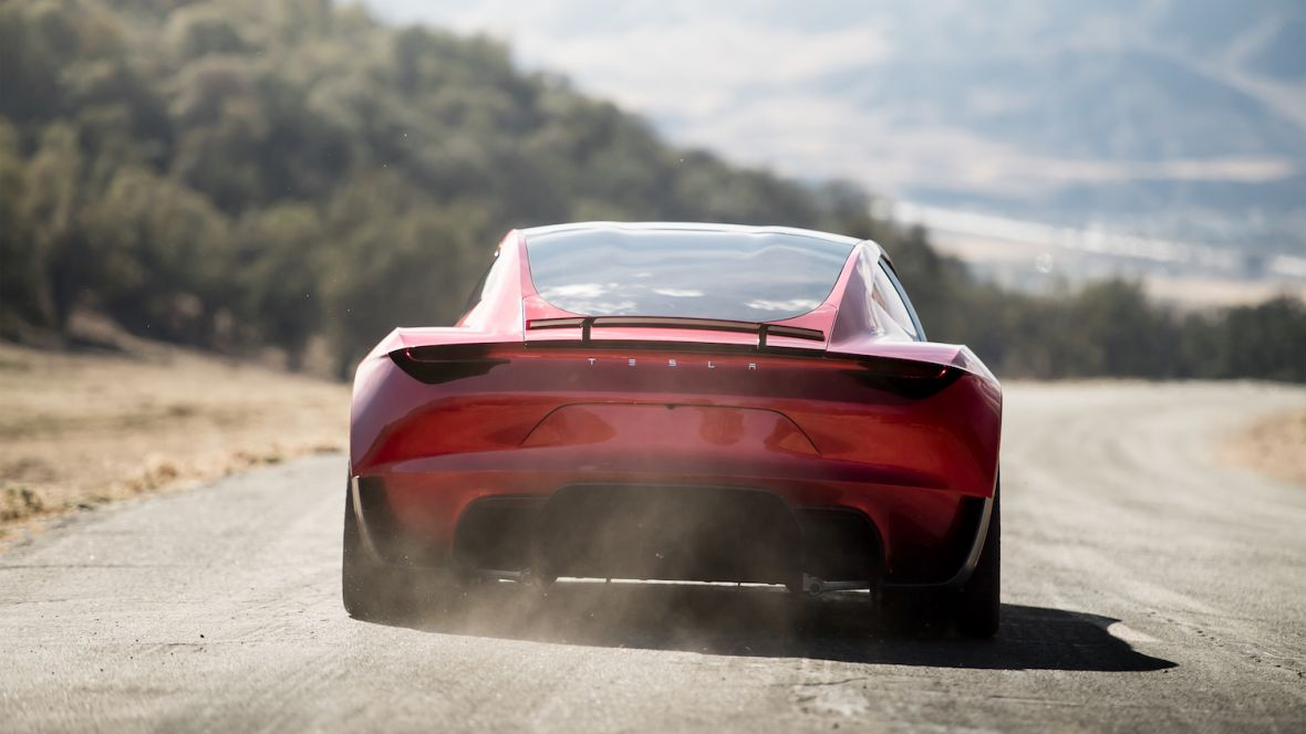 Tesla pozamiatała. Dla Roadstera konkurencji nie ma i może nigdy nie być