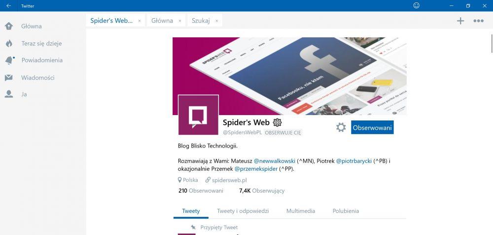 Windows 10 nowości interfejs Bluetooth