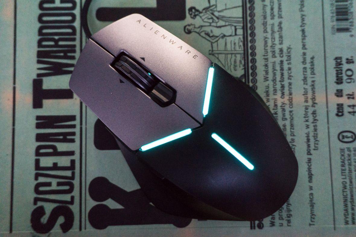 Kosmici wracają do akcesoriów dla graczy. Alienware Advanced Gaming Mouse AW558 – recenzja