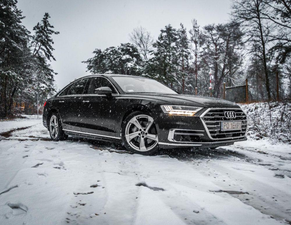 Audi A8 test