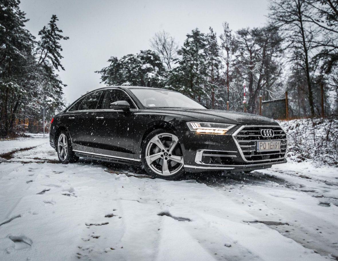 Magia czterech kółek, czyli co kryje się w zawieszeniu nowego Audi A8