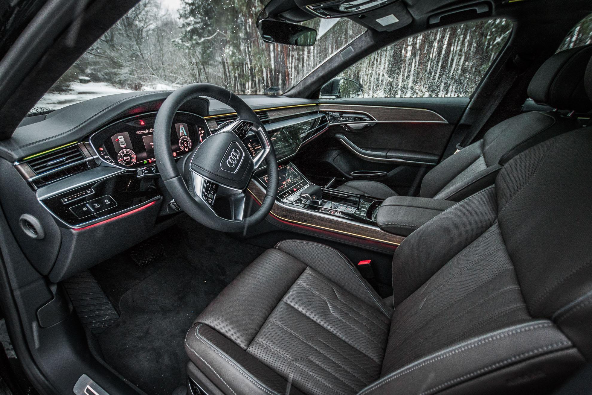 Nic Nie Było W Stanie Popsuć Mi Radości Z Jazdy Nowym Audi A8