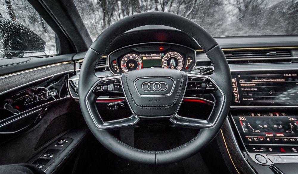 Audi A8 zawieszenie