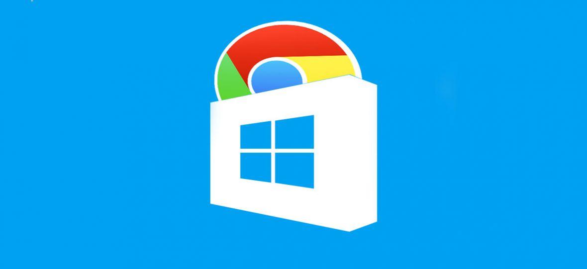 AKTUALIZACJA: Nie musisz już odpalać Edge'a, by pobrać Chrome'a. Teraz zrobisz to w Sklepie Microsoft