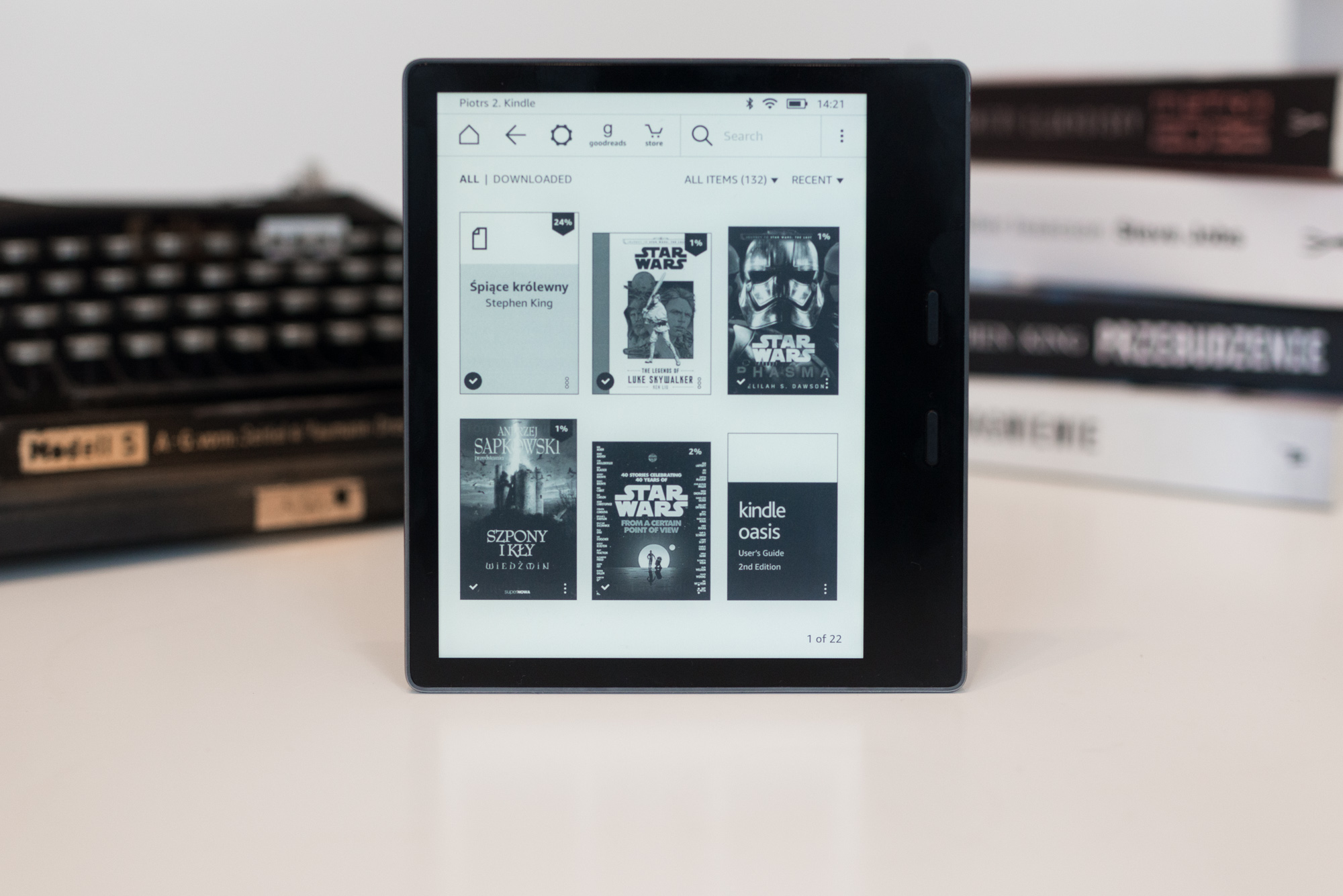 Amazon Kindle Oasis 2 recenzja