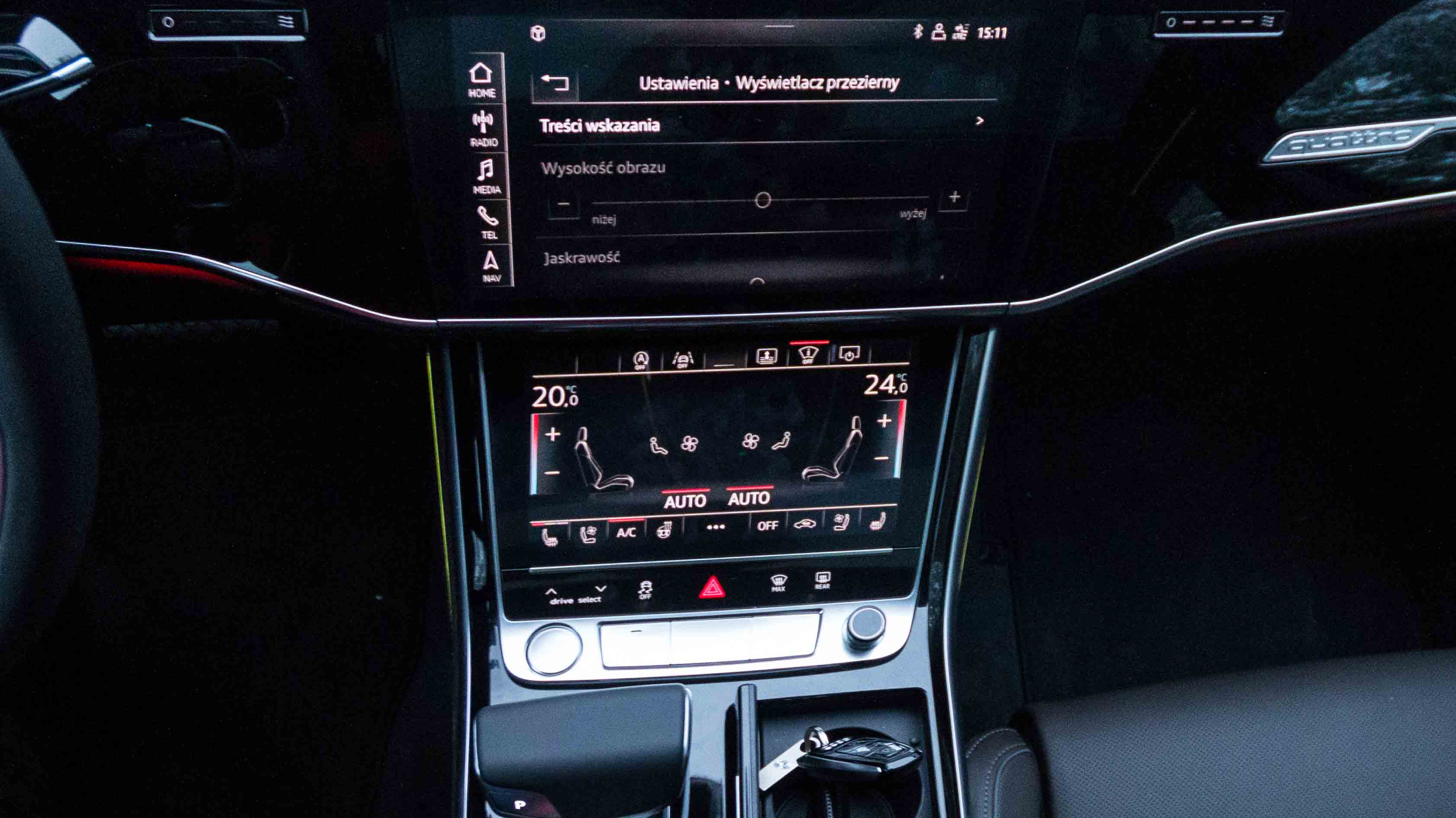 11 Rzeczy Za Które Pokochasz Wnętrze Nowego Audi A8