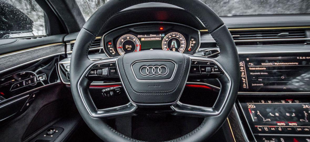 11 rzeczy, za które pokochasz wnętrze nowego Audi A8