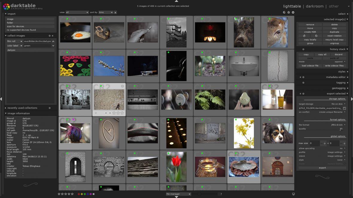 Darktable wprowadzi cię w świat profesjonalnej obróbki zdjęć. Konkurent Lightrooma nareszcie na Windowsie