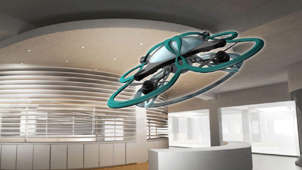 dron do kontroli czasu pracy