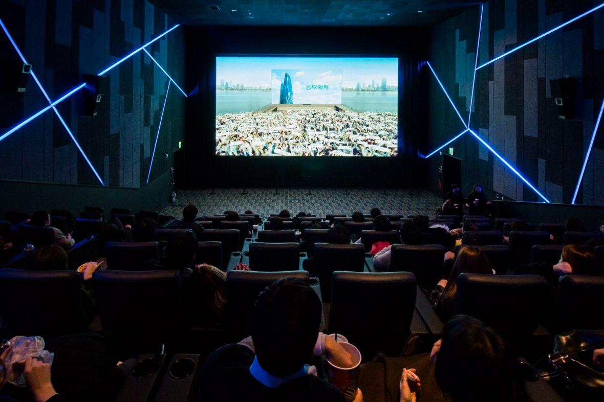 Ekran LED zamiast projektora? Obejrzałem film w kinie przyszłości Samsunga