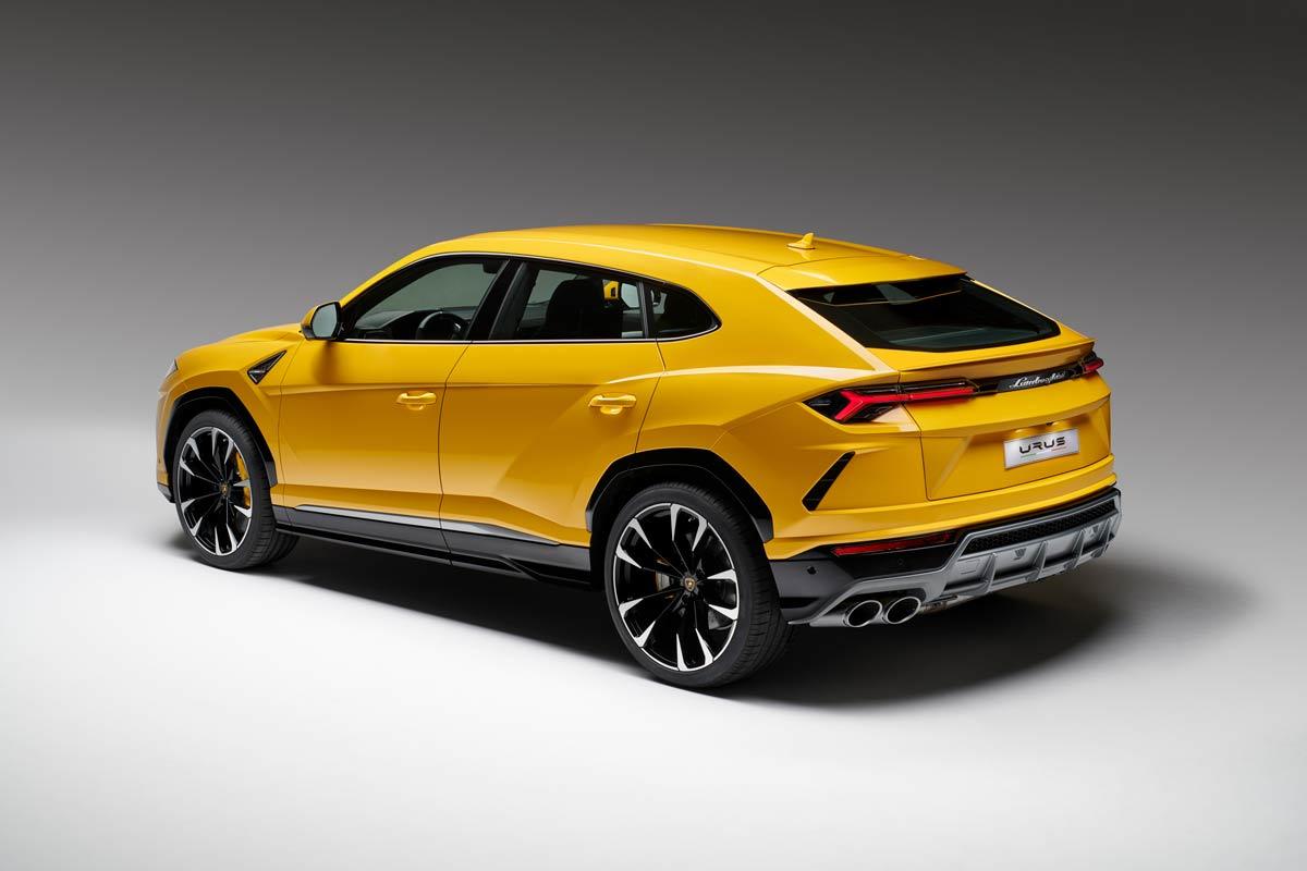 Ale Urus Lamborghini Zaprezentowało Pierwszego Ssuv A Na