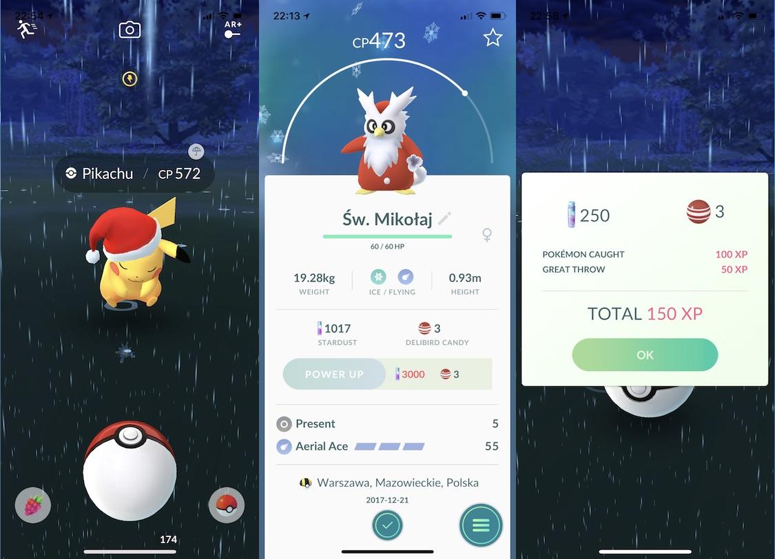 pokemon go event swieta 2017