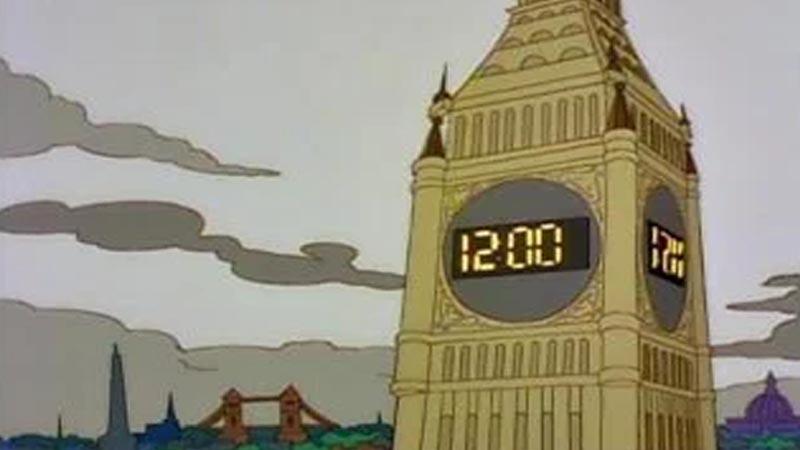 Simpsonowie przewidują budowę