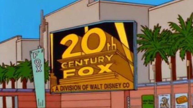 Simpsonowie przewidują przejecie Foxa przez Disnaya