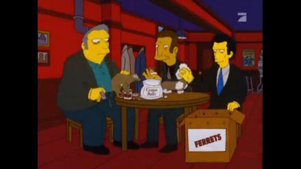 Simpsonowie przewidują przebieranie fretek za pudle