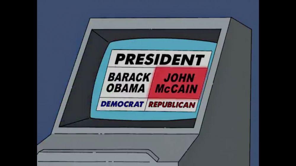 Simpsonowie przepowiadają błąd maszyn