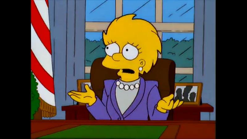Simpsonowie przepowiadają prezydenta Trumpa