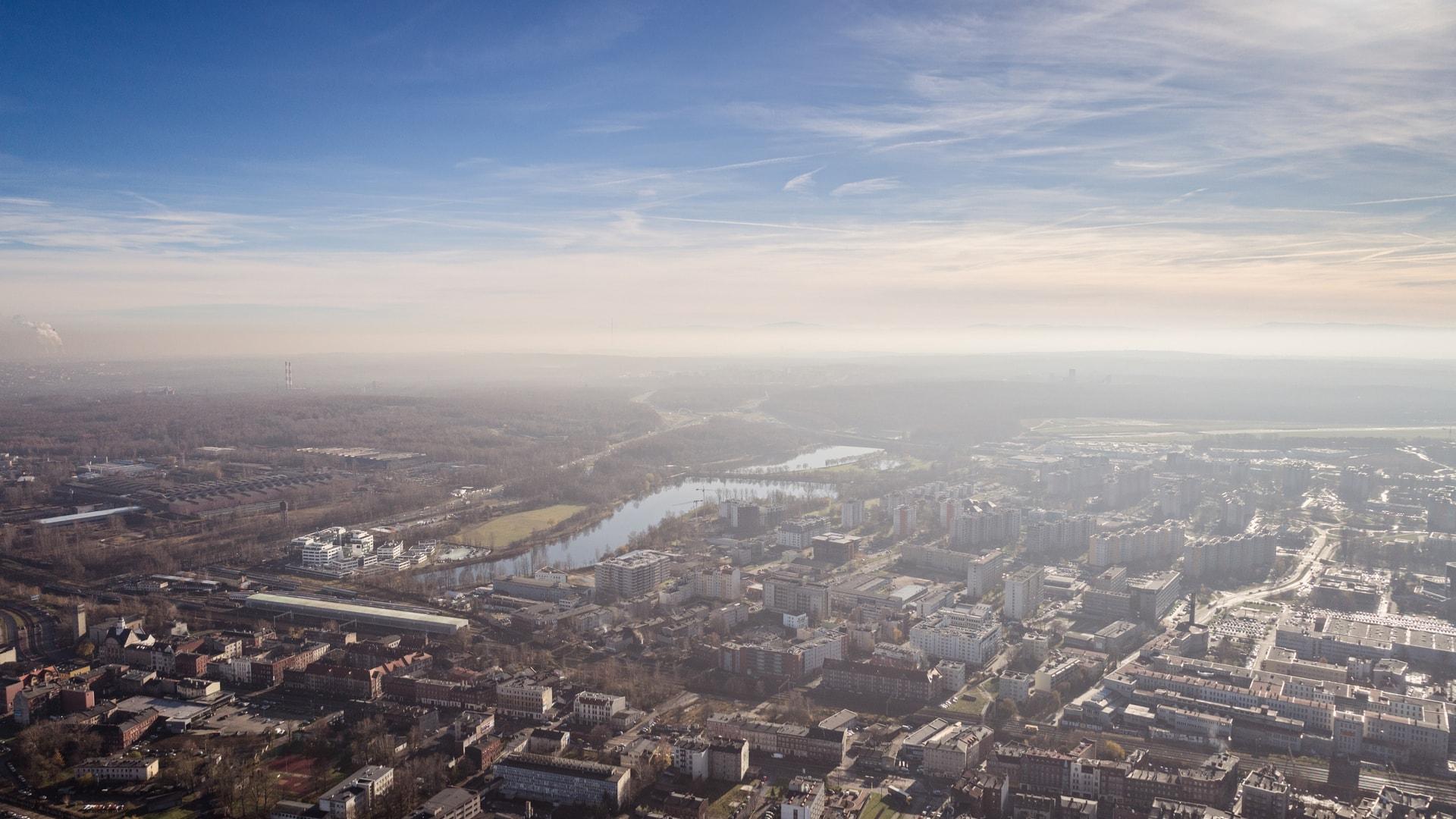 Smog w Katowicach - Śląsk