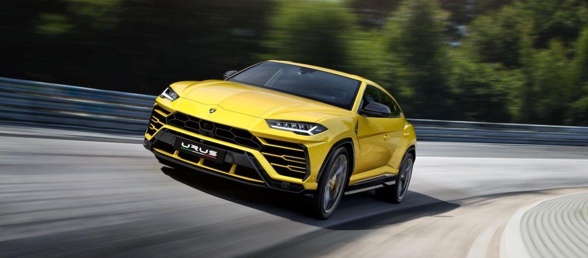 Lamborghini, ten niemiecki producent SUV-ów