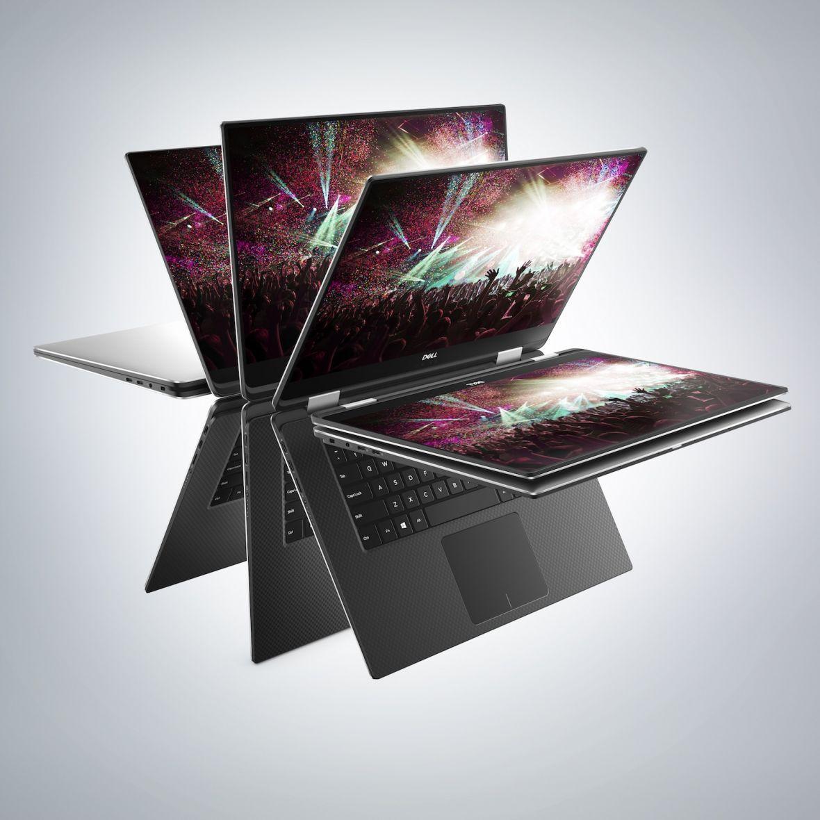 Ulubieniec tłumu w nowej odsłonie. Dell XPS 15 umie się teraz wyginać, a pod klawiszami ma magnesy