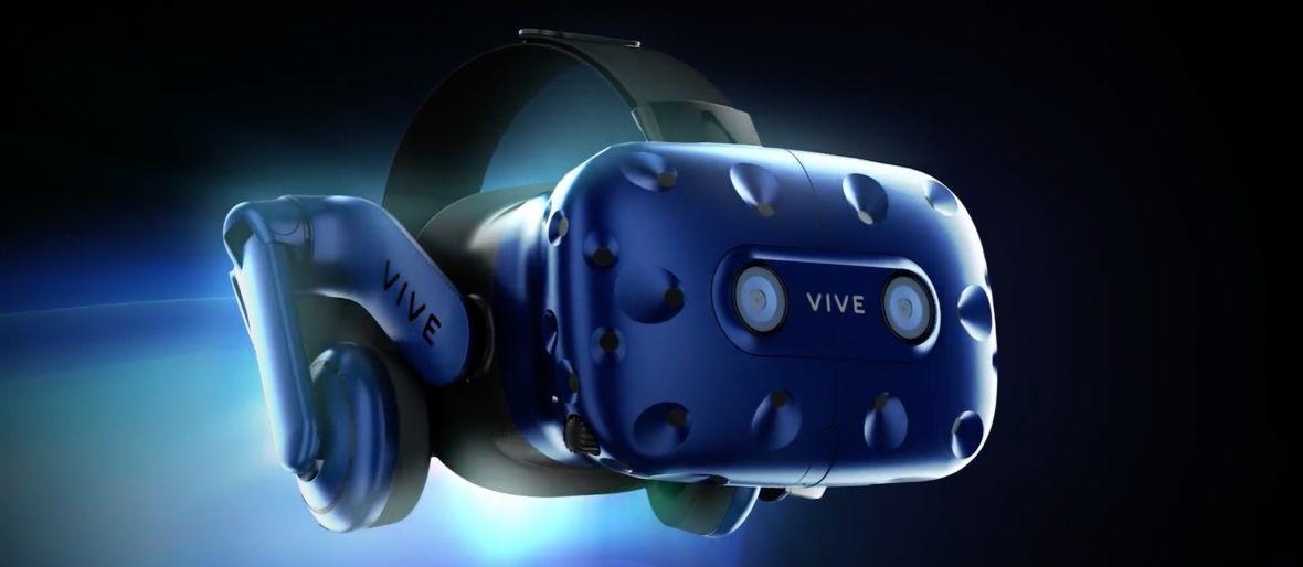 HTC pokazało nowe gogle VR. VIVE PRO robi wrażenie, ale ciekawsze jest nowe akcesorium